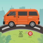 Mini bus L300 (Freepik)