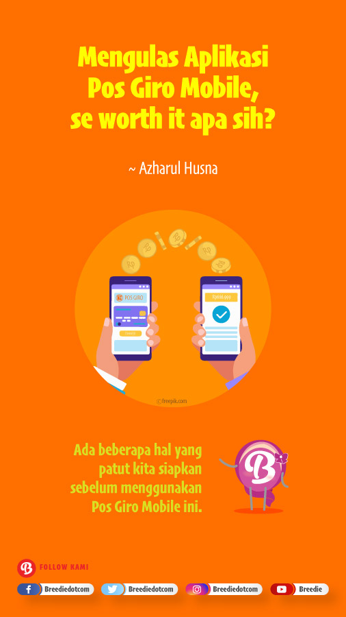 Review Aplikasi Pos Giro Mobile