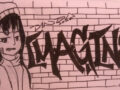 Dinda gadis grafiti